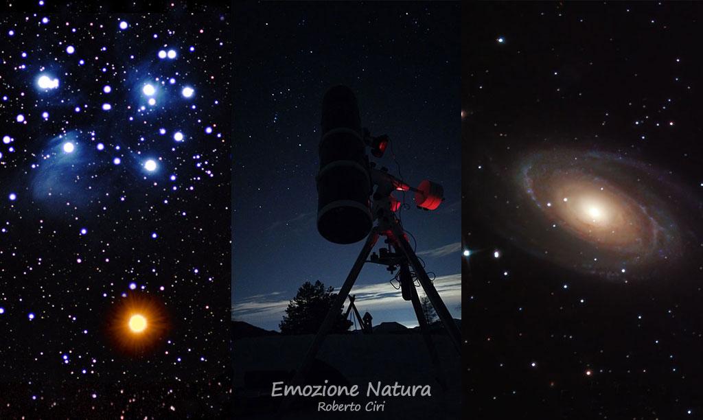 Osservazione cielo stellato
