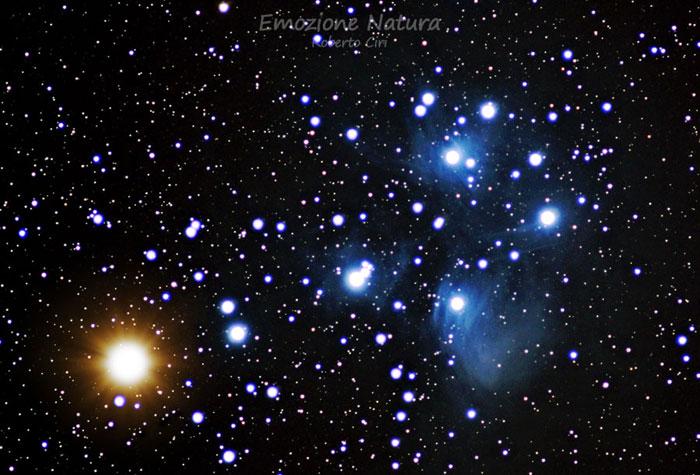 Venere nelle Pleiadi