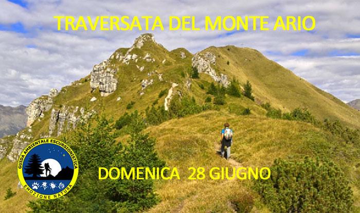 Traversata Monte Ario