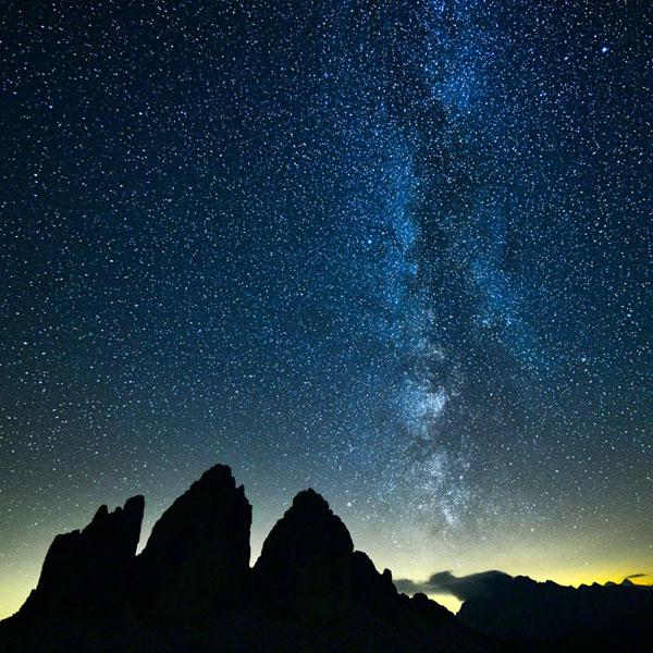 Workshop fotografia di paesaggi stellari