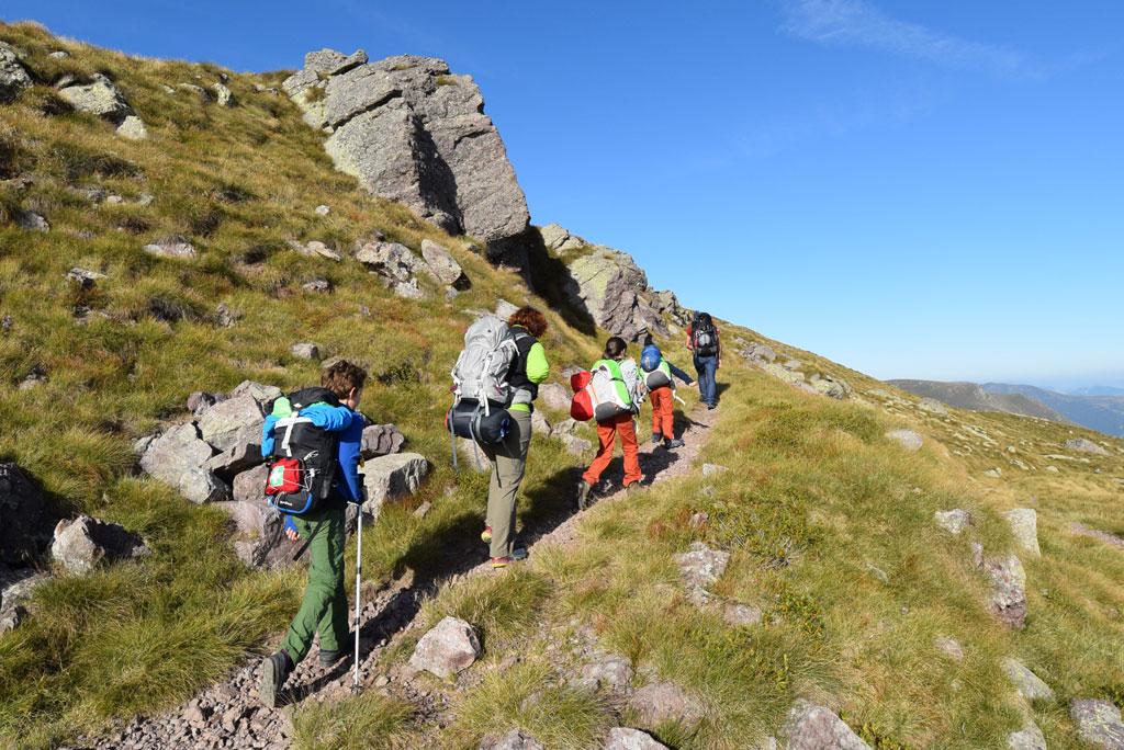 Escursioni in montagna e naturalistiche