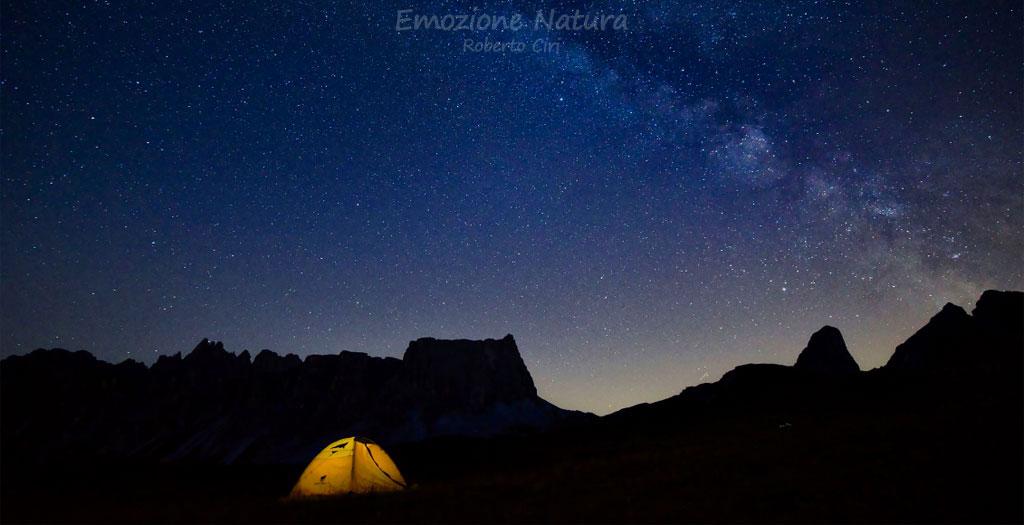 Trekking stellari sulle Dolomiti