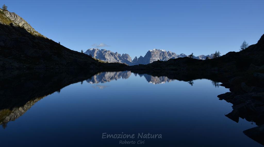 Riflesso delle Dolomiti di Brenta