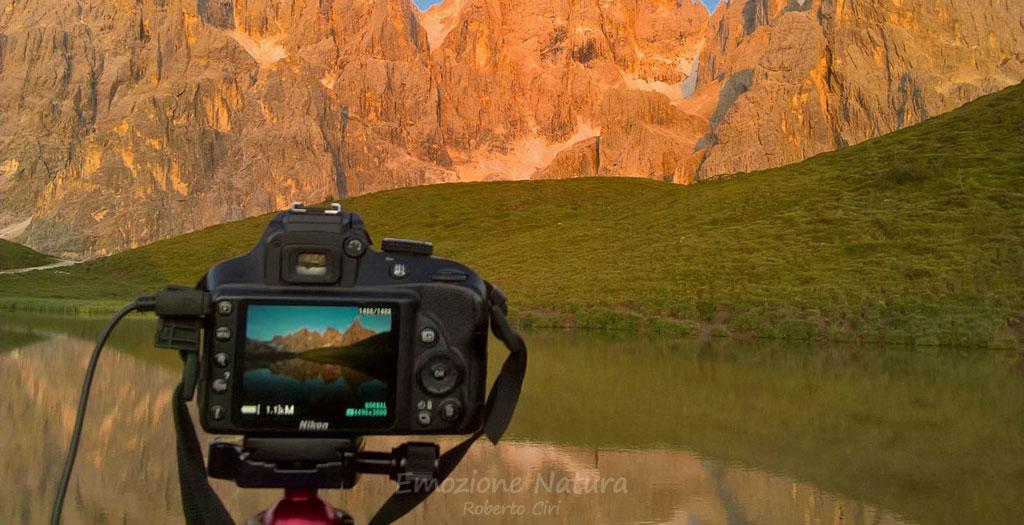 Workshop fotografico Riflessi Dolomitici