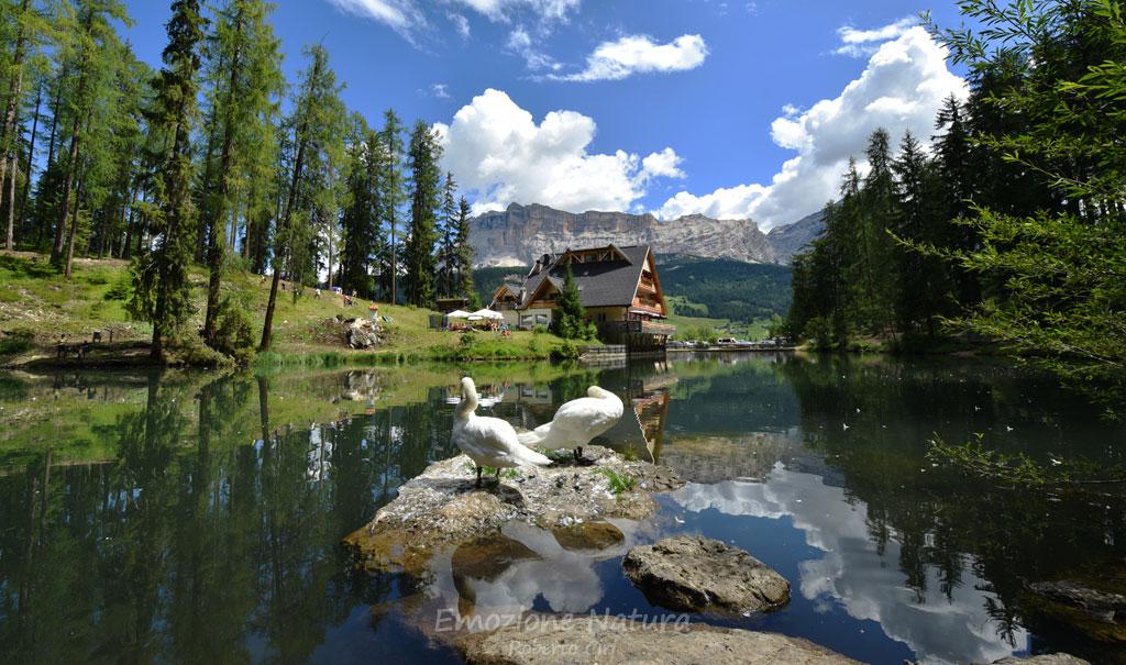 Laghetto in Val Badia