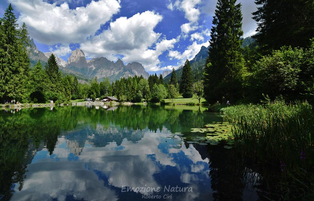 Lago Welsperg - Pale di San Martino