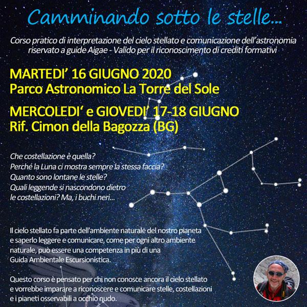 Corso di astronomia per GAE