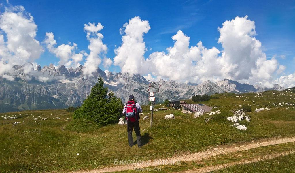 Escursionismo sulle Dolomiti
