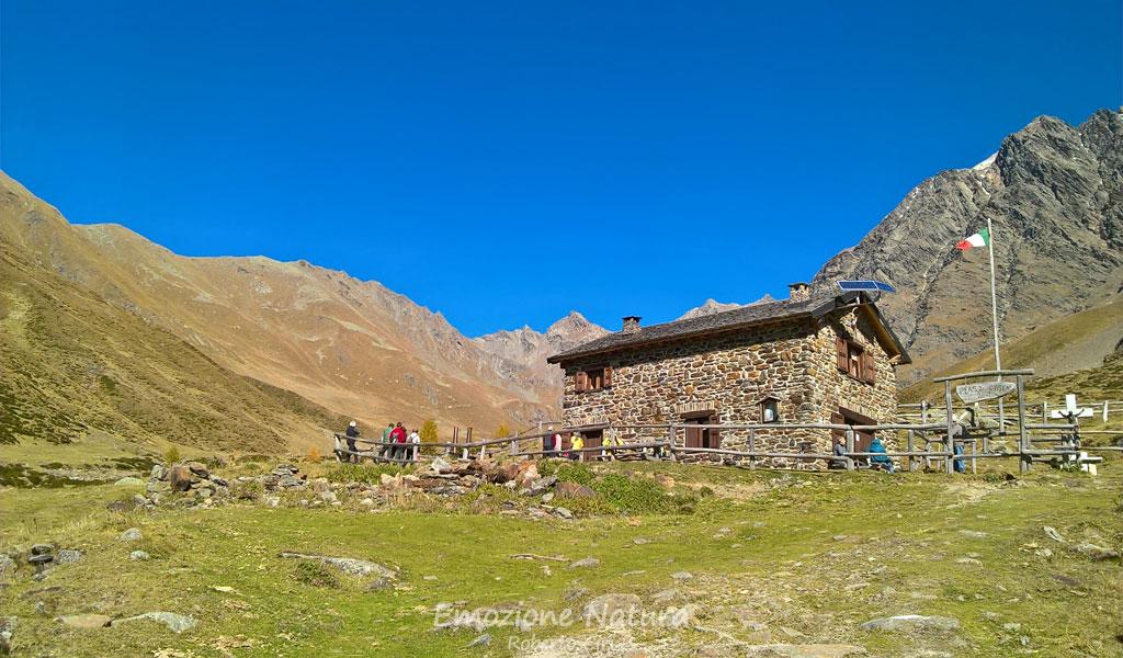 Rifugio Occhi in Val Grande