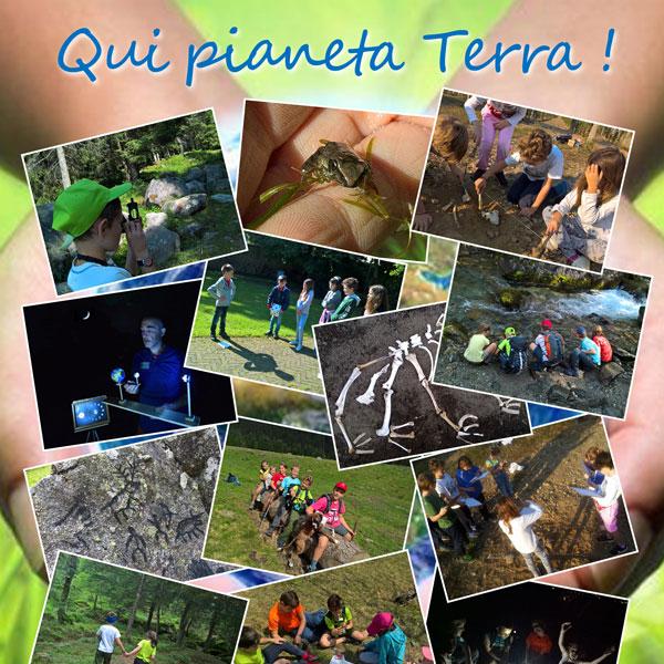 Attività scuola Qui pianeta Terra