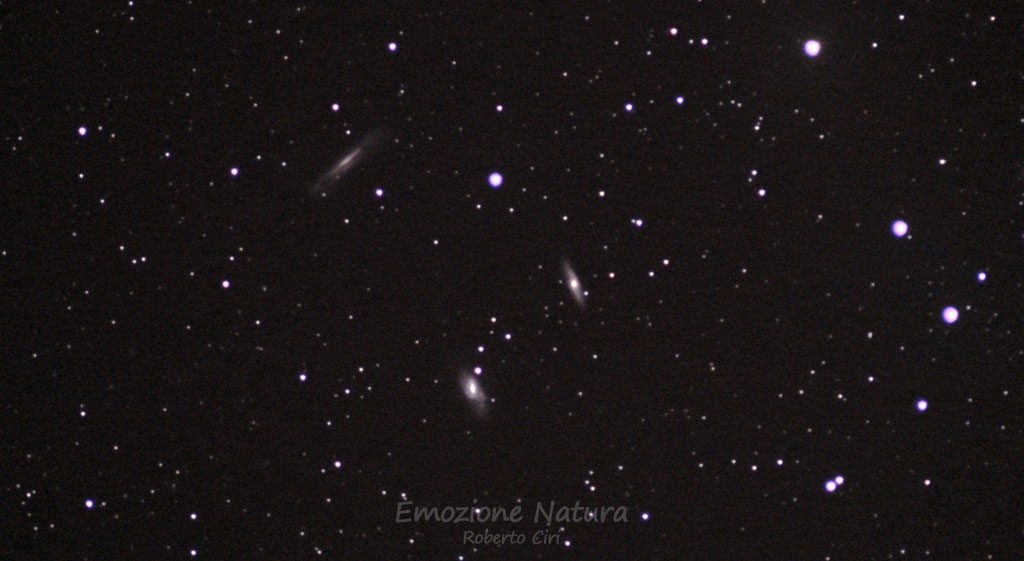 Galassie viste con un modesto telescopio