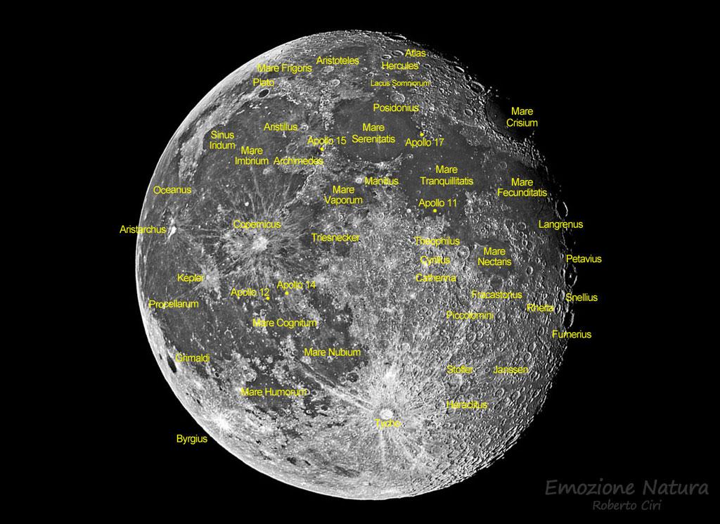 Crateri della Luna