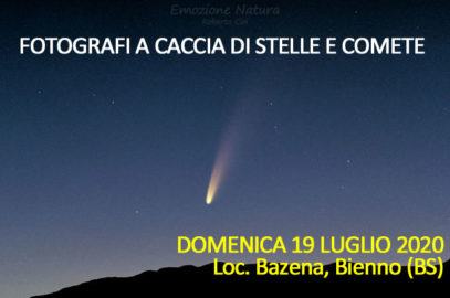 Workshop fotografia cometa Neowise