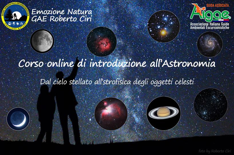 Corso online introduzione astronomia