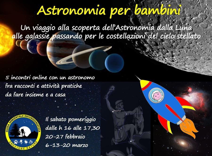 Astronomia online per bambini