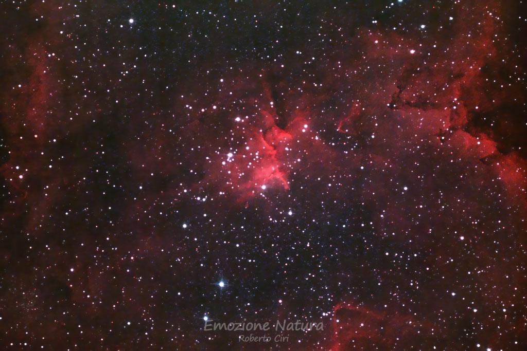 Nebulosa gassosa in Cassiopea